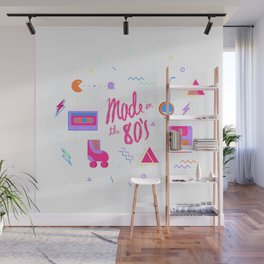 80's Wall Mural