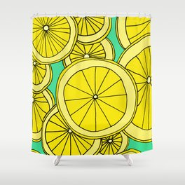 Lemons by Emma Freeman Designs Shower Curtain