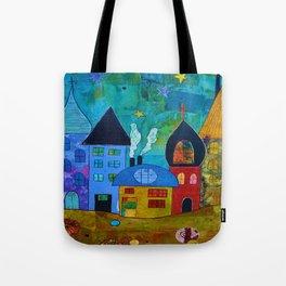 Mini Little Village - a Portion of Little Village Tote Bag