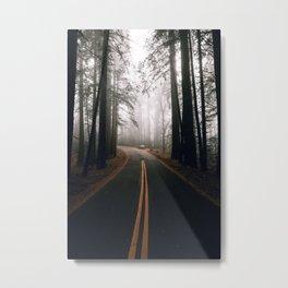 Road Trip V / Mount Tamalpais, California Metal Print