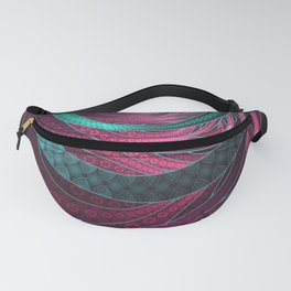 Abstract Bangles of Very Berry Bubblegum Bands Fanny Pack