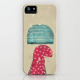 its raining again iPhone Case