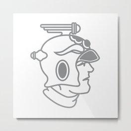 Buck the Spaceman Metal Print