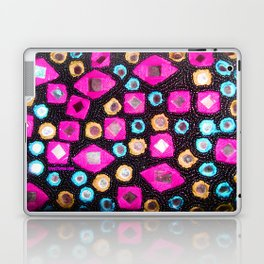 Pink beaded jewels for the fashionista's! Laptop & iPad Skin