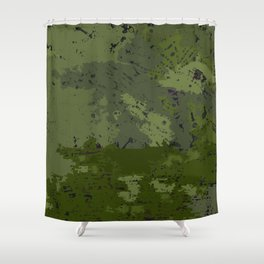 And they called it camo Shower Curtain