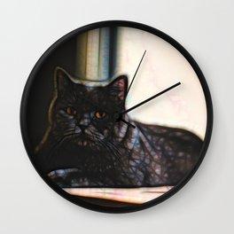 British Shorthair 1 Wall Clock