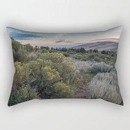 Desert Bloom + Sand Dunes + Sunset Rectangular Pillow