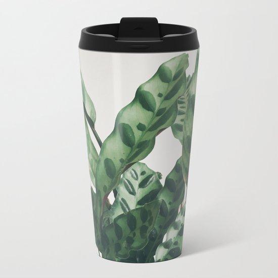 Pattern Metal Travel Mug