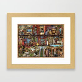 The Museum Shelf Framed Art Print