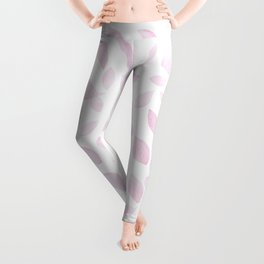 Sakura Petals Pattern Leggings
