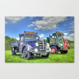 Bedford Dropside Tipper Canvas Print