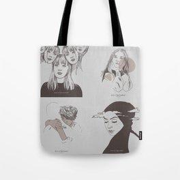 DRUCK - mains minimalism Tote Bag