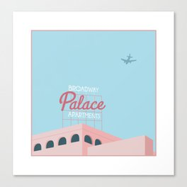 Palace Apartments Canvas Print
