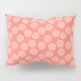 Coral Sand Dollars Pillow Sham