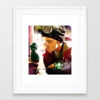 jesse pinkman Framed Art Prints featuring Jesse Pinkman by p1xer