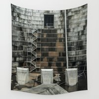 industrial Wall Tapestries featuring Industrial  by Novella Photography