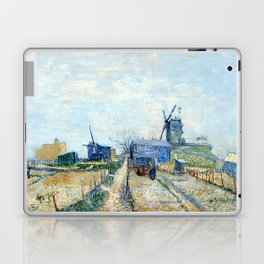 Vincent Van Gogh - Montmatre mills and vegetable gardens Laptop & iPad Skin