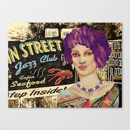 BB Jazz Stop  Canvas Print