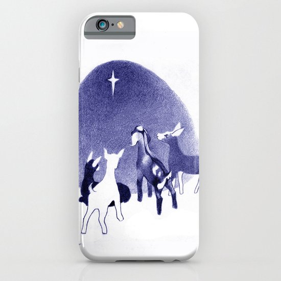 Christmas in the Stable iPhone & iPod Case