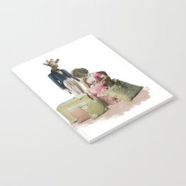 Funny Animal Couple Notebook