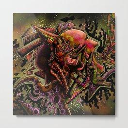 Bi-polar (psychedelic) Metal Print