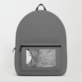 Separated grey Rucksack