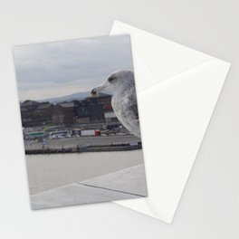 view - norway Stationery Cards