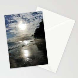 Abandoned Silhouette Beach Stationery Cards