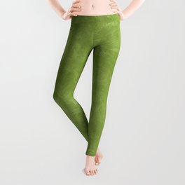 Peridot Oil Pastel Color Accent Leggings