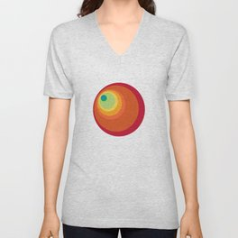 Tunnel Vision Unisex V-Neck