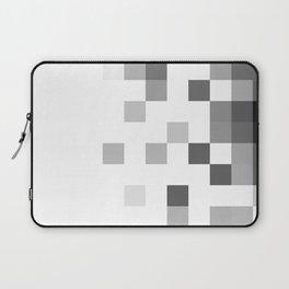 Gray Scale In Pixels Laptop Sleeve