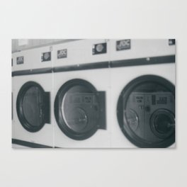 Launderette Canvas Print