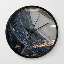 Lake Shore Drive Wall Clock