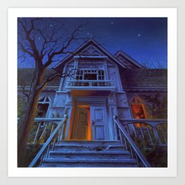 Welcome to Dead House Art Print