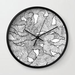 Organic Lines Wall Clock