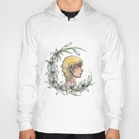 enjolras Hoodies featuring Enjolras and lilies by MonsterFromTheLAke