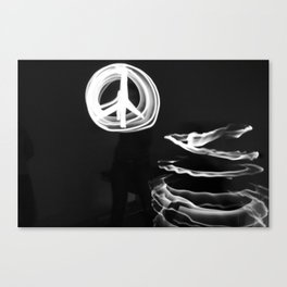 Playing with Light Canvas Print