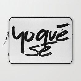 """""""Yoquésé"""" [Copyright] Mar Cantón, 2017 Laptop Sleeve"""
