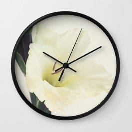 Sword Lilly - Gladiolus - JUSTART © Wall Clock