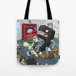 Bad Comma Tote Bag