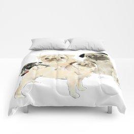 Pug Dogs Pugs Comforters