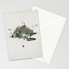 Collage City Mix 2 Stationery Cards