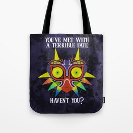 Majora's Mask Splatter (Quote) Tote Bag