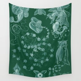 Ernst Haeckel Siphonophorae Hydrozoan Wall Tapestry
