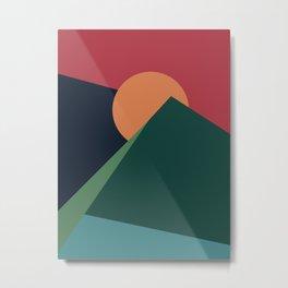 Forever Mountainous Metal Print