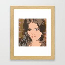 Khloe Kardashian Framed Art Print
