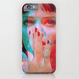 """I said goddamn. Goddamn"" - MIA WALLACE iPhone Case"