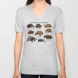 Tortoises of the World Unisex V-Neck