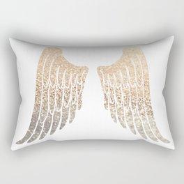 GOLD WINGS Rectangular Pillow