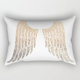 GOLD WINGS Rectangular Pillow